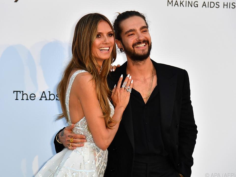 Klum und Kaulitz zeigen sich seit Monaten öffentlich verliebt