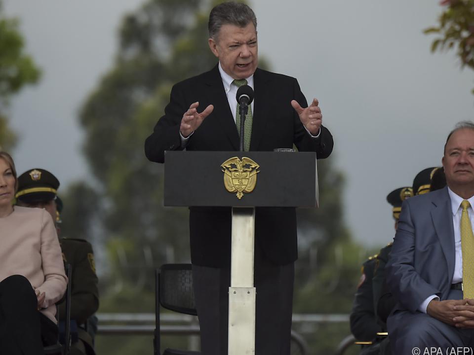 Kolumbiens Präsident Santos bot Strafnachlässe an