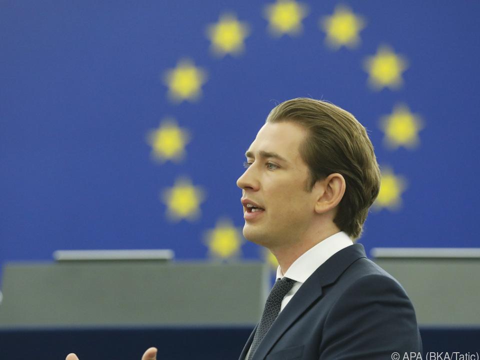 Kurz will vor allem illegale Migration bekämpfen