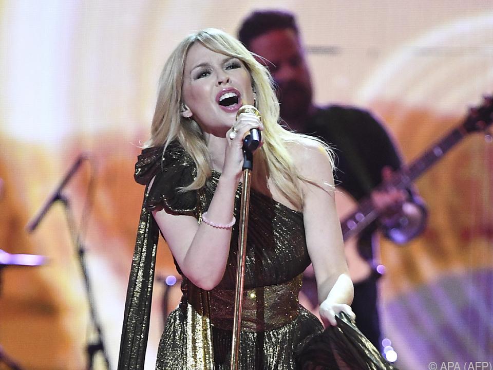 Kylie Minogue wird Songs ihrer neuen Platte \