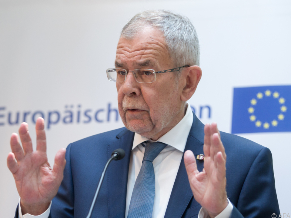Laut Van der Bellen droht EU Bedeutungsverlust