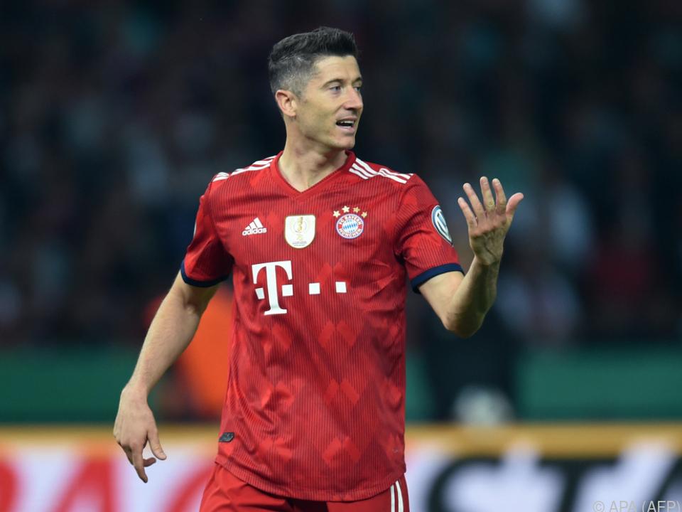 Lewandowski wirkte zuletzt nicht glücklich bei den Bayern