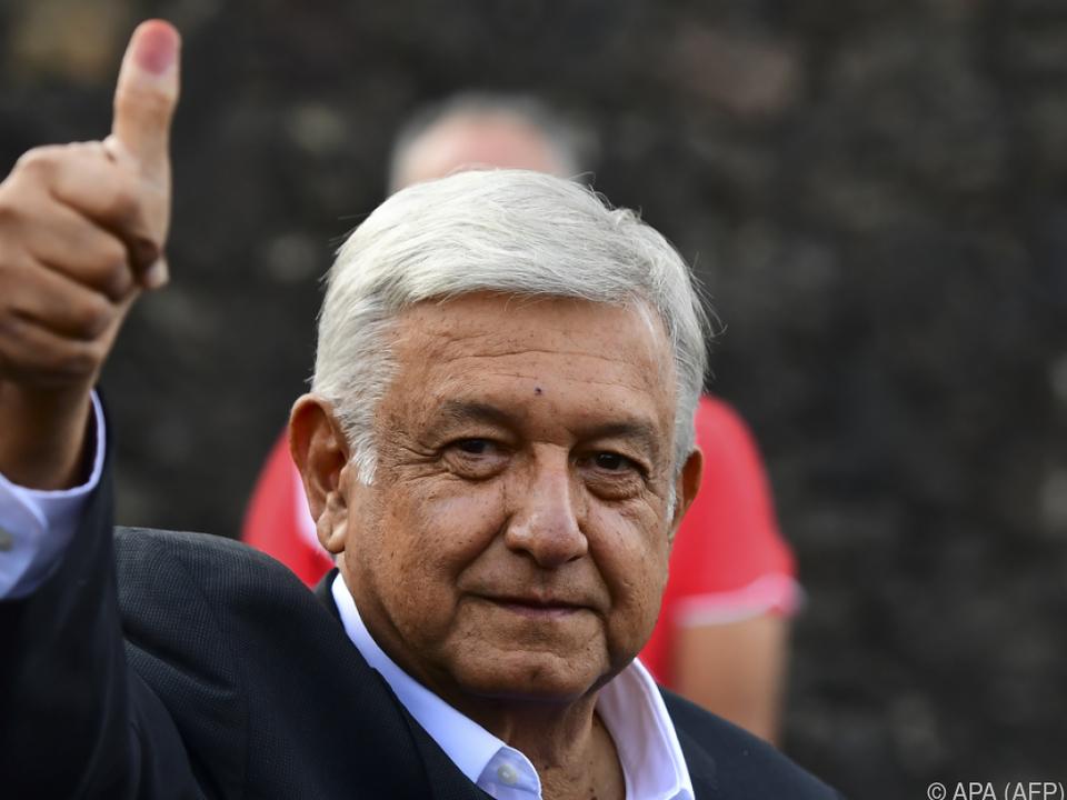 Lopez Obrador versprach bessere Sozialleistungen