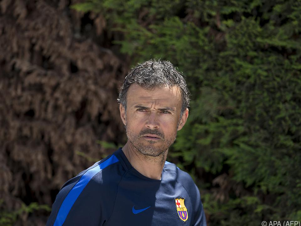 Luis Enrique überzeugte schon als Trainer des FC Barcelona