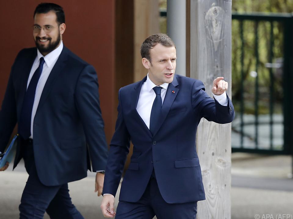 Macron hatte lange zur Affäre Benalla geschwiegen