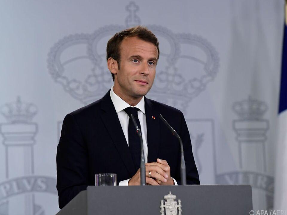 Macron: Umstände lassen Abkommen wie TTIP nicht zu