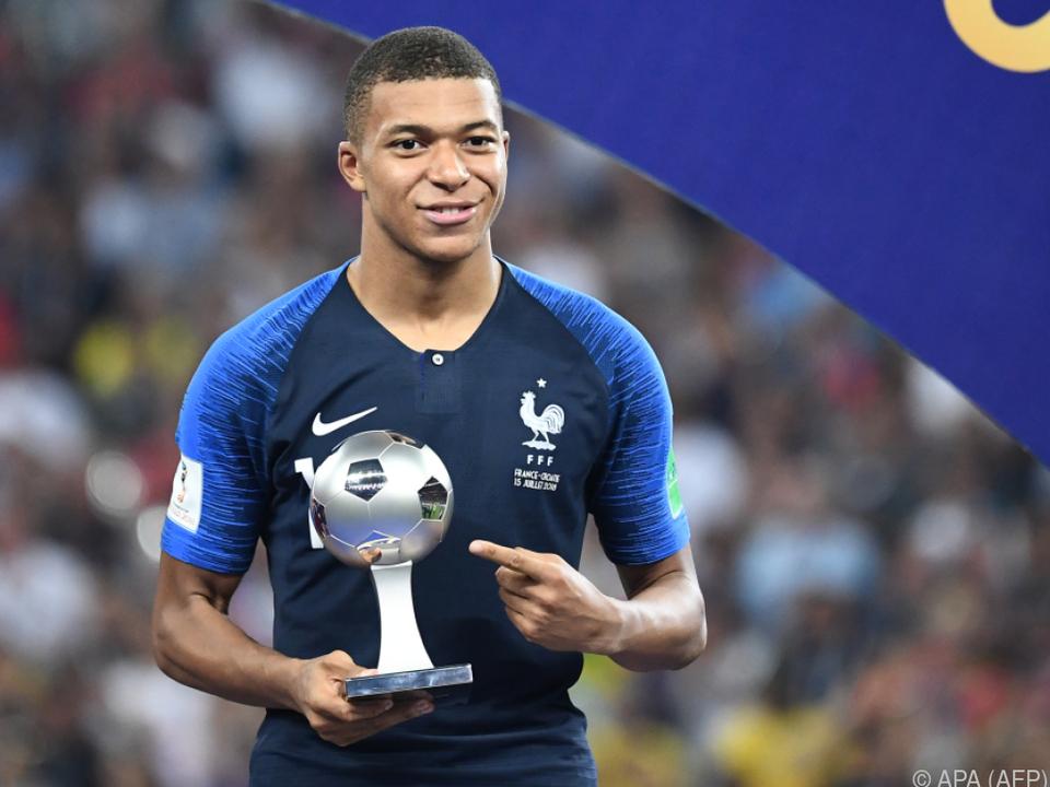 Mbappe steigerte seinen Marktwert bei der WM beträchtlich
