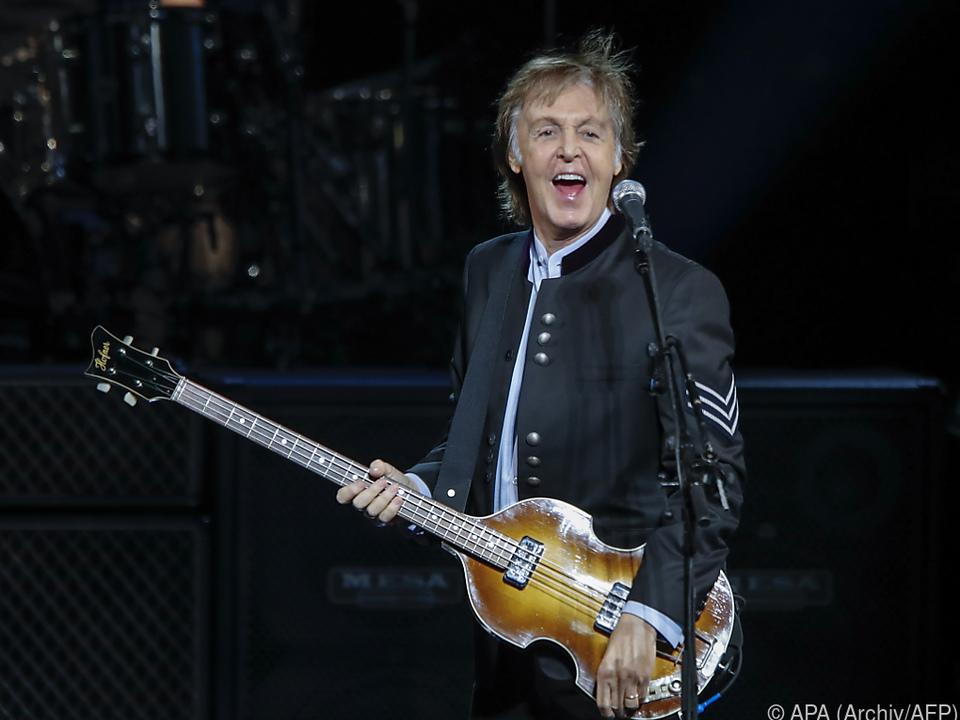 McCartney begeisterte seine Fans