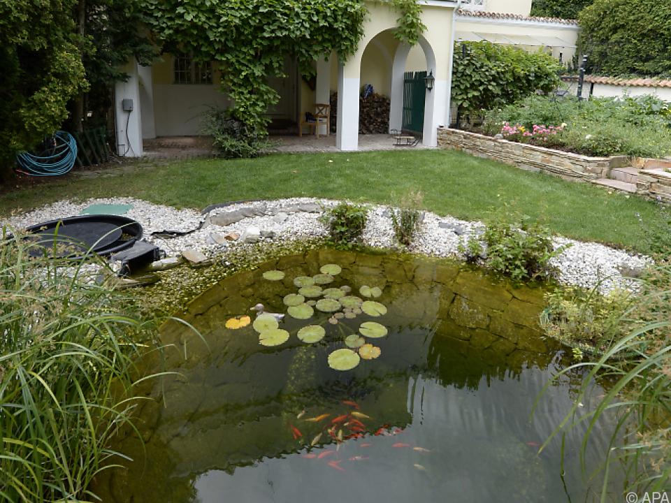 Mehr als drei Jahrzehnte hatte Peter Alexander in der Villa gewohnt