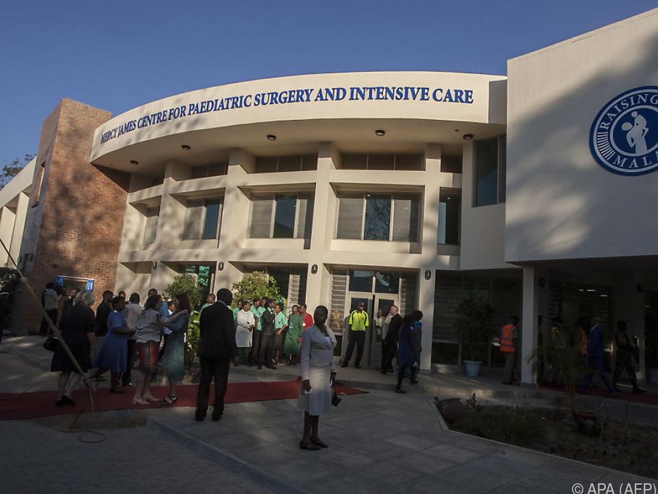 Mercy James Children\'s Hospital  in Blantyre