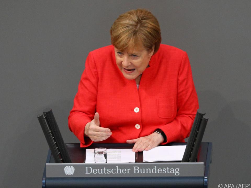 Merkel muss Einigung erklären