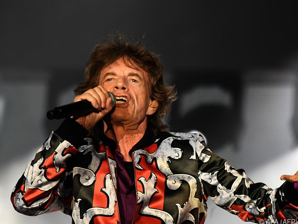 Mick Jagger schaute tatsächlich beim Spiel England gegen Kroatien zu