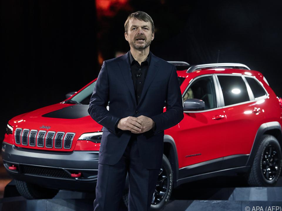 Mike Manley war vorher Chef der Marke Jeep