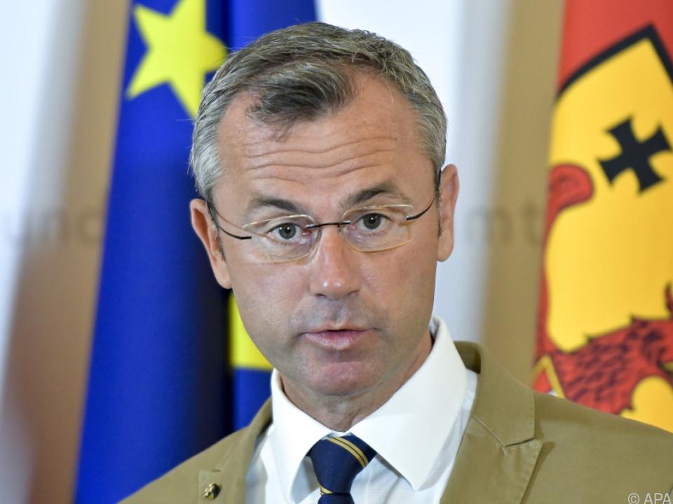 Minister Hofer bläst Tiroler Gegenwind ins Gesicht