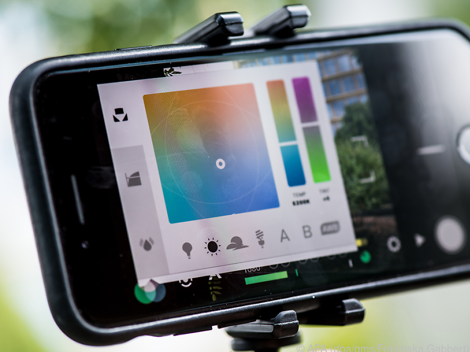 Es lassen sich eine Menge Parameter beim Filmen mit Smartphone einstellen