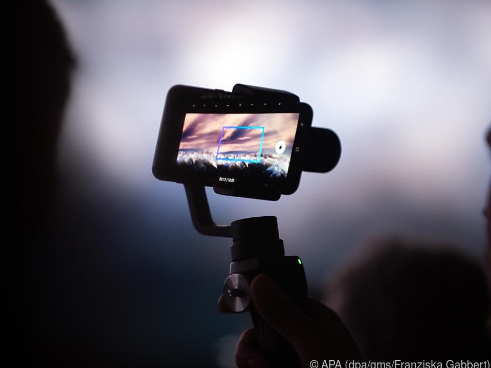 Mit dem Smartphone lassen sich schnell und unkompliziert Videos machen