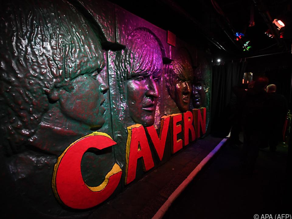 Über 300 Mal traten The Fab Four im Cavern Club auf