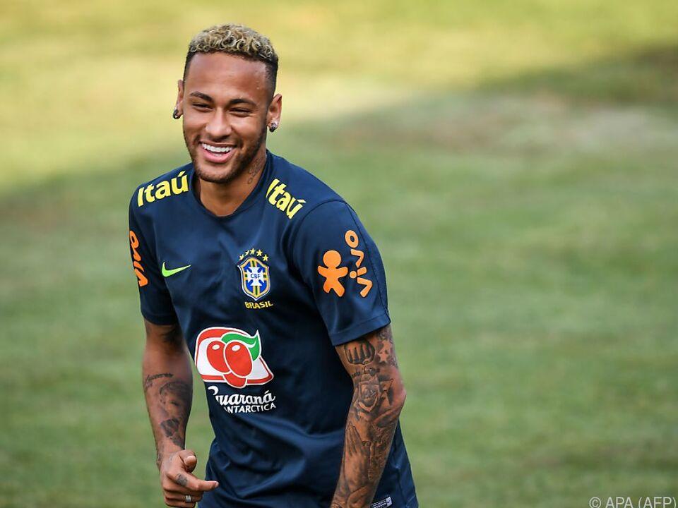 Neymar hat seine Leistung bisher gesteigert