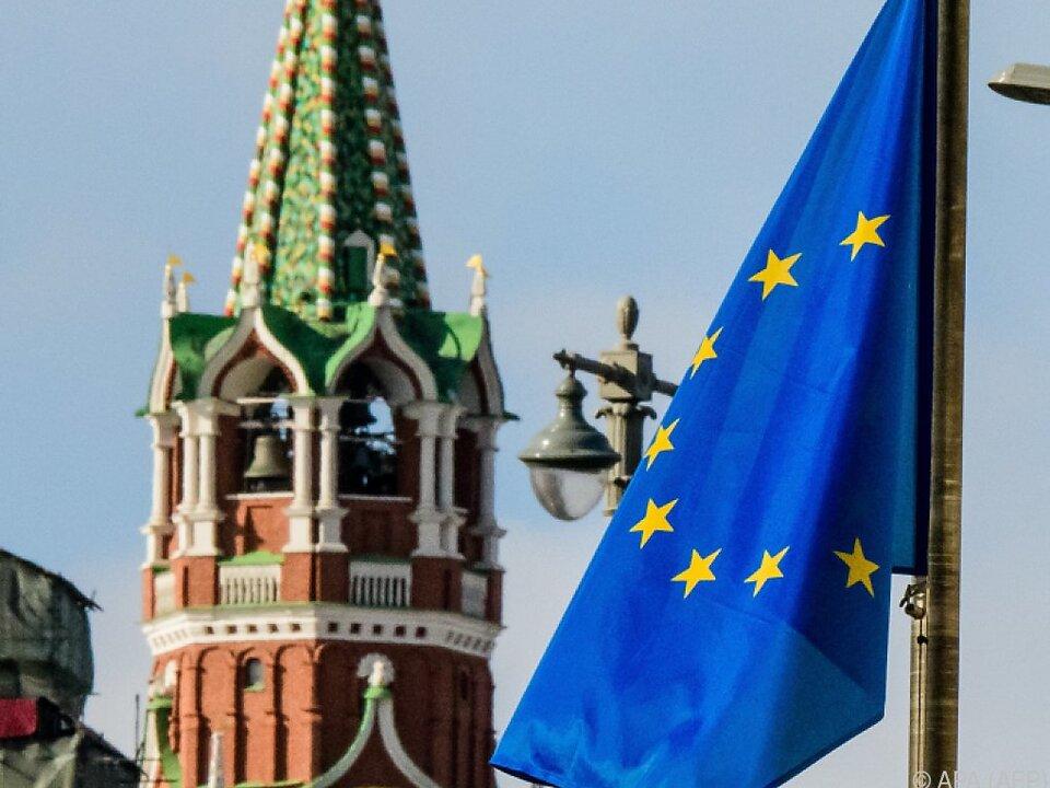 Nicht die besten Beziehungen zwischen EU und Kreml