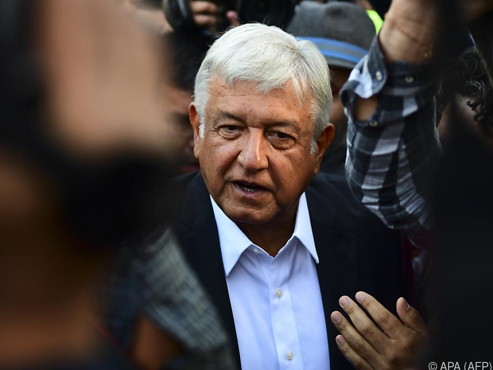 Obrador versucht Trump zur Vernunft zu bringen