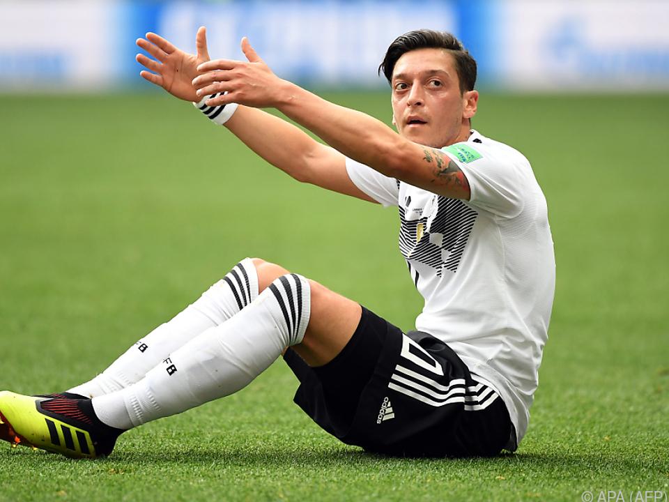 Özil will unter gegenwärtigen Bedingungen nicht mehr im Team spielen