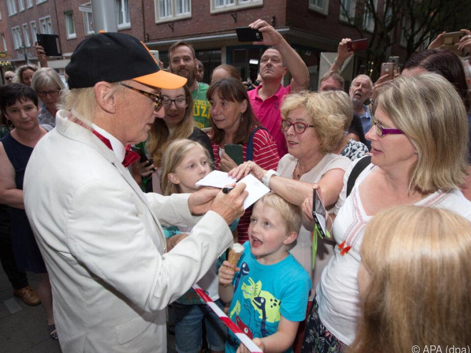 Otto Waalkes feierte zünftig seinen 70. Geburtstag