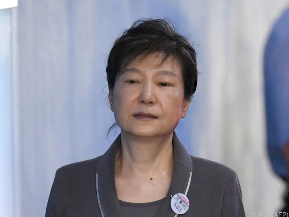 Park Geun-hye erhielt Zusatzstrafen