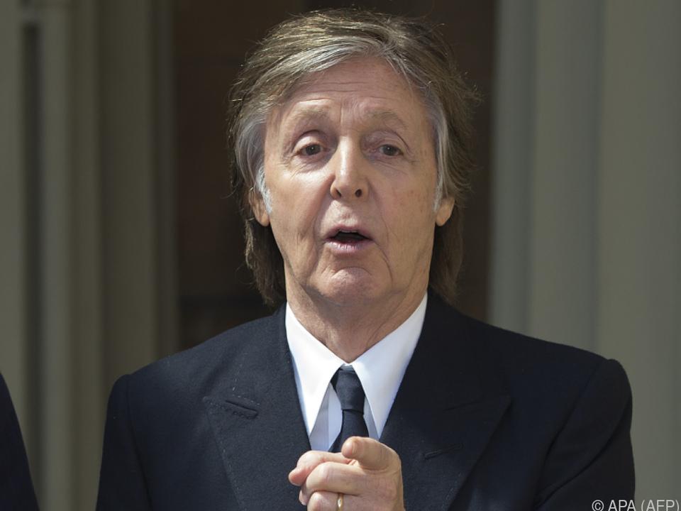 Paul McCartney ist noch immer voll gefragt