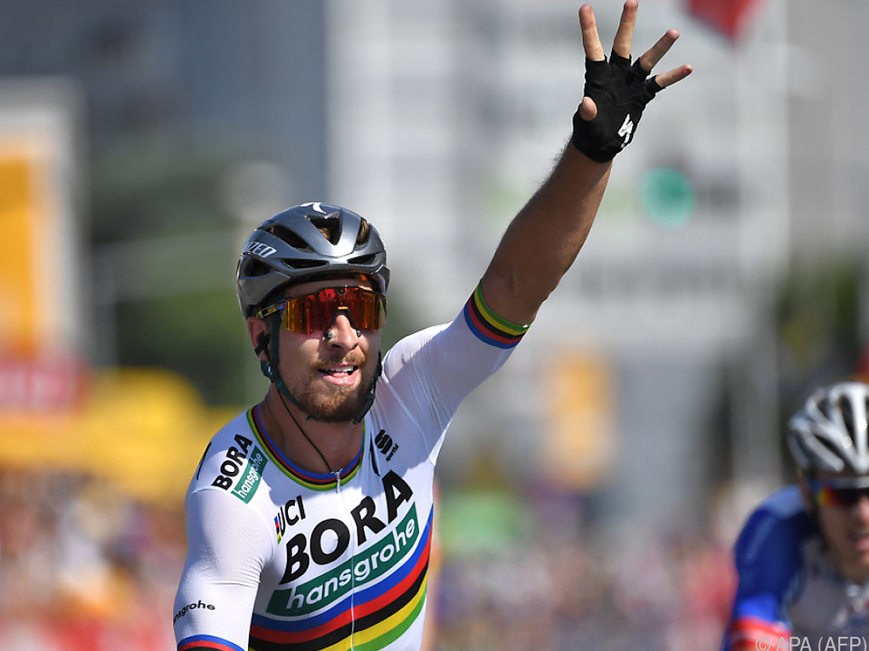 Peter Sagan war am schnellsten in La Roche-sur-Yon