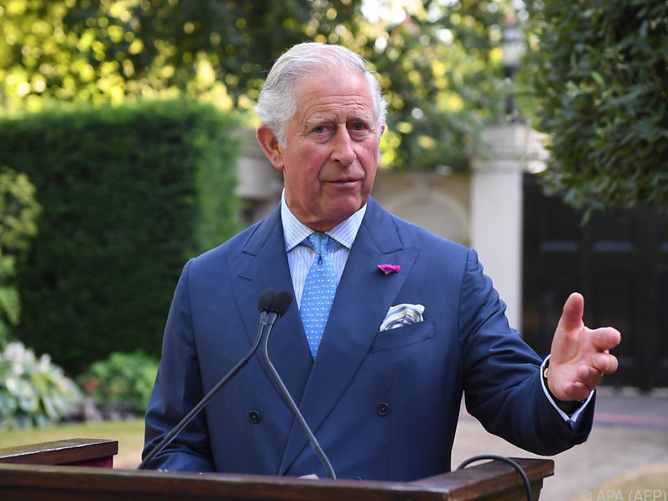 Prinz Charles gilt als Kunstliebhaber