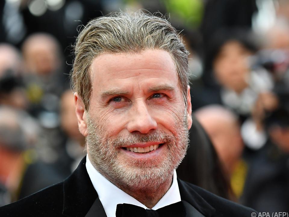 Privat tanzt Travolta weiterhin mit seiner Frau