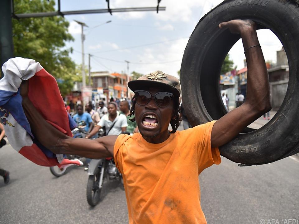 Proteste gegen die hohen Benzinpreise