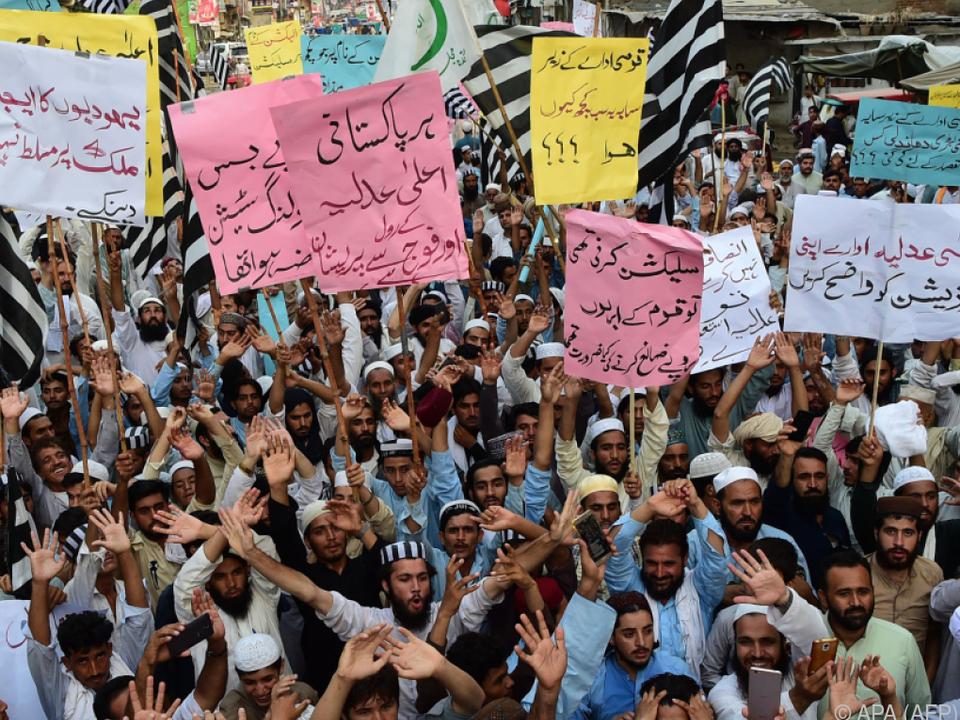 Proteste nach Vorwürfen der Wahlfälschung