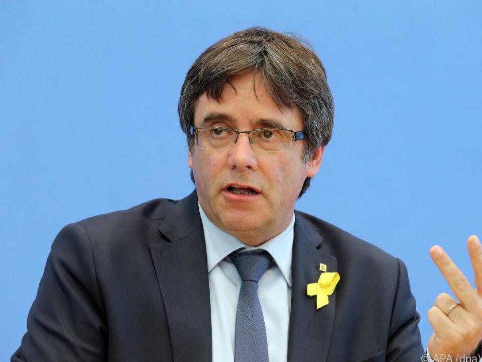 Puigdemont will von Brüssel aus für Katalonien politisch aktiv sein