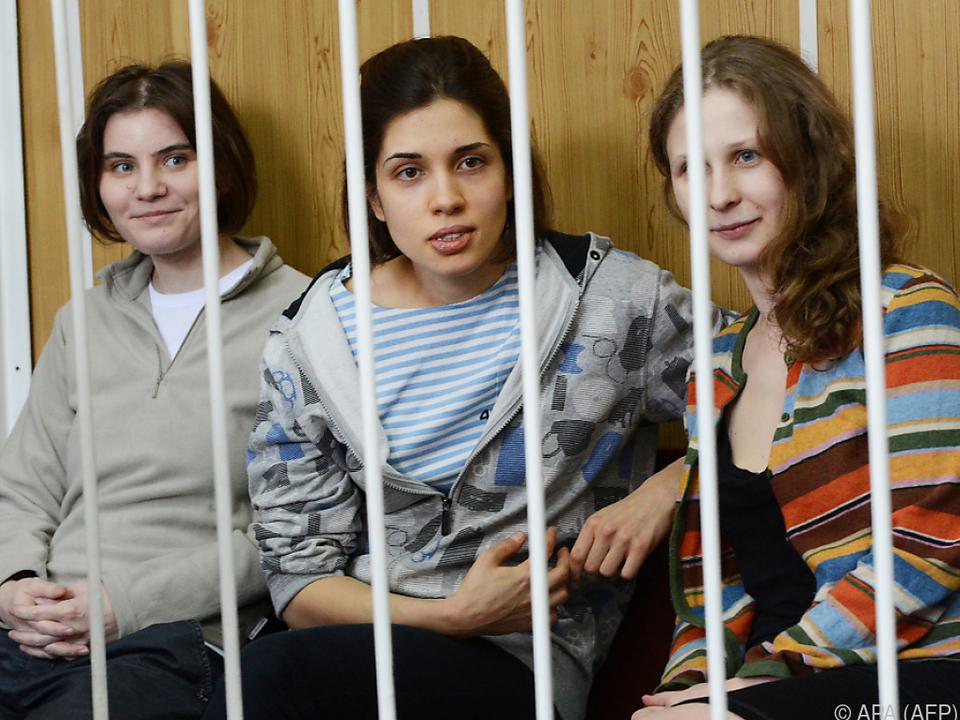 Urteil Russland muss Pussy Riot Entschädigung zahlen