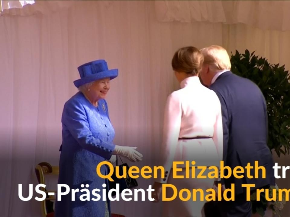 Queen: Die Trumps zum Tee