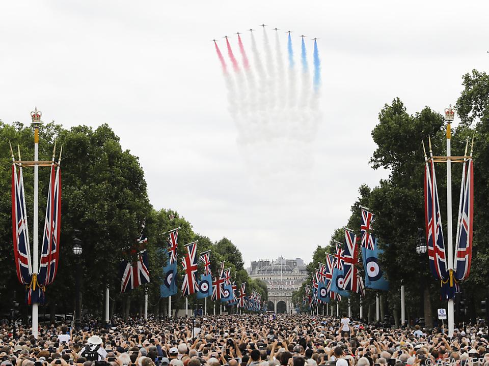 Großbritannien gedenkt seinen Helden