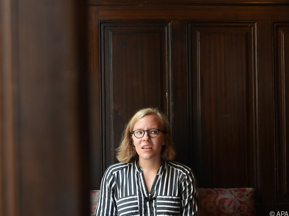 Raphaela Edelbauer ist die einzige Österreicherin im Wettbewerb