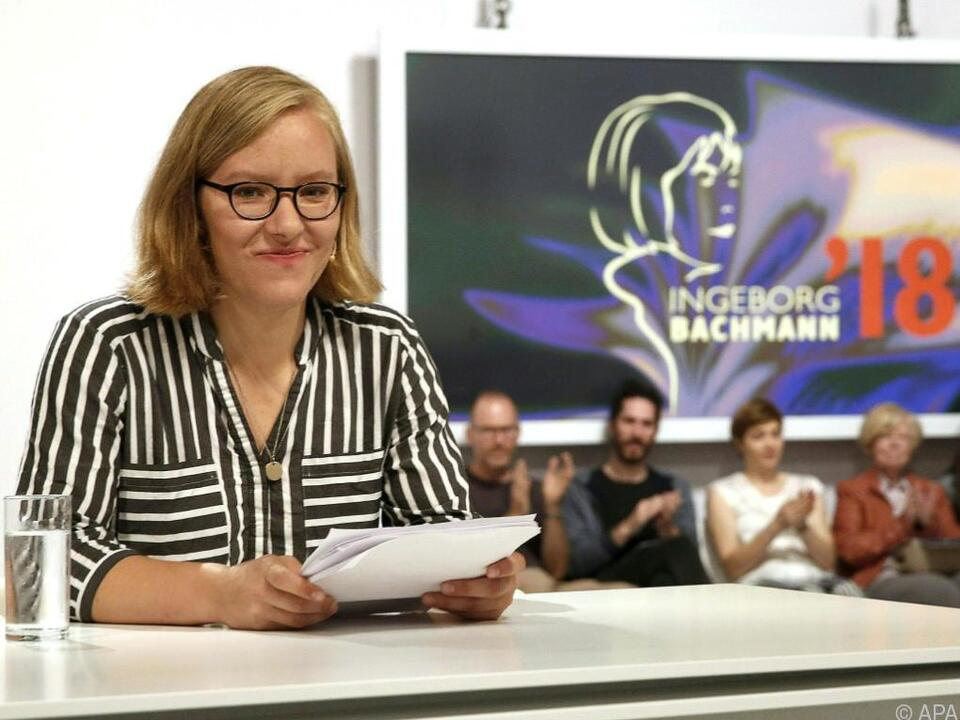 Raphaela Edelbauer ist die einzige Teilnehmerin aus Österreich