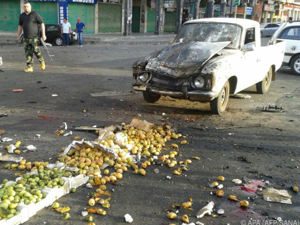 Reihe von Anschlägen erschütterte die Provinz Sweida