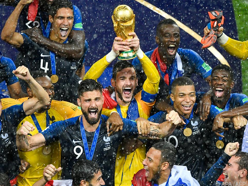Riesenjubel beim zweifachen Weltmeister Frankreich