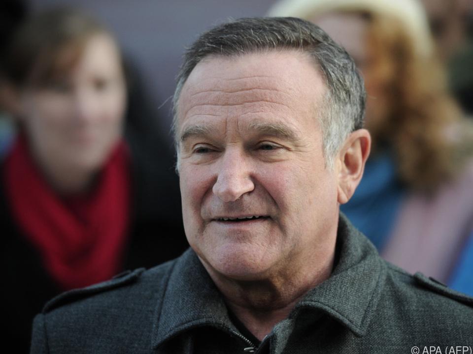 Robin Williams nahm sich im Jahr 2014 das Leben