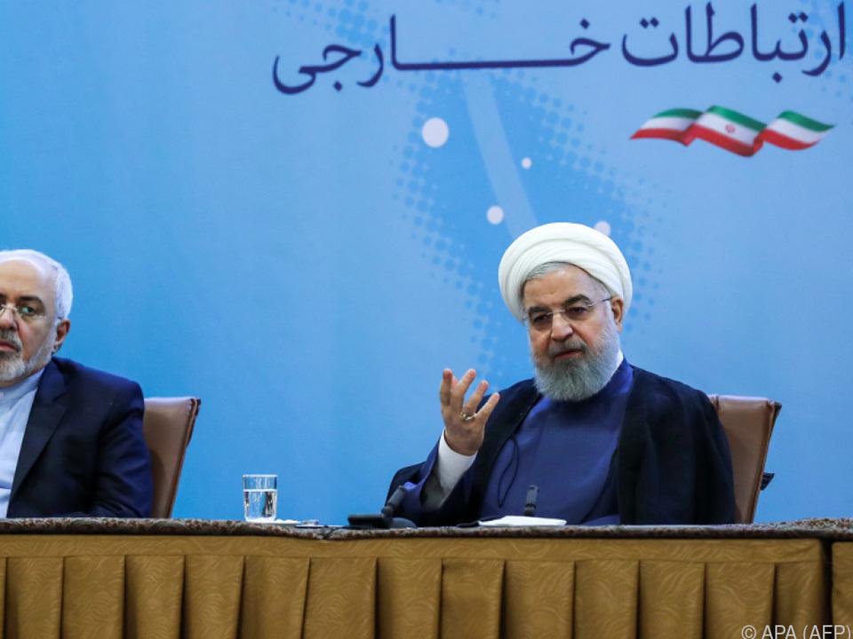 Rouhani wurde von Trump mit Drohungen bedacht