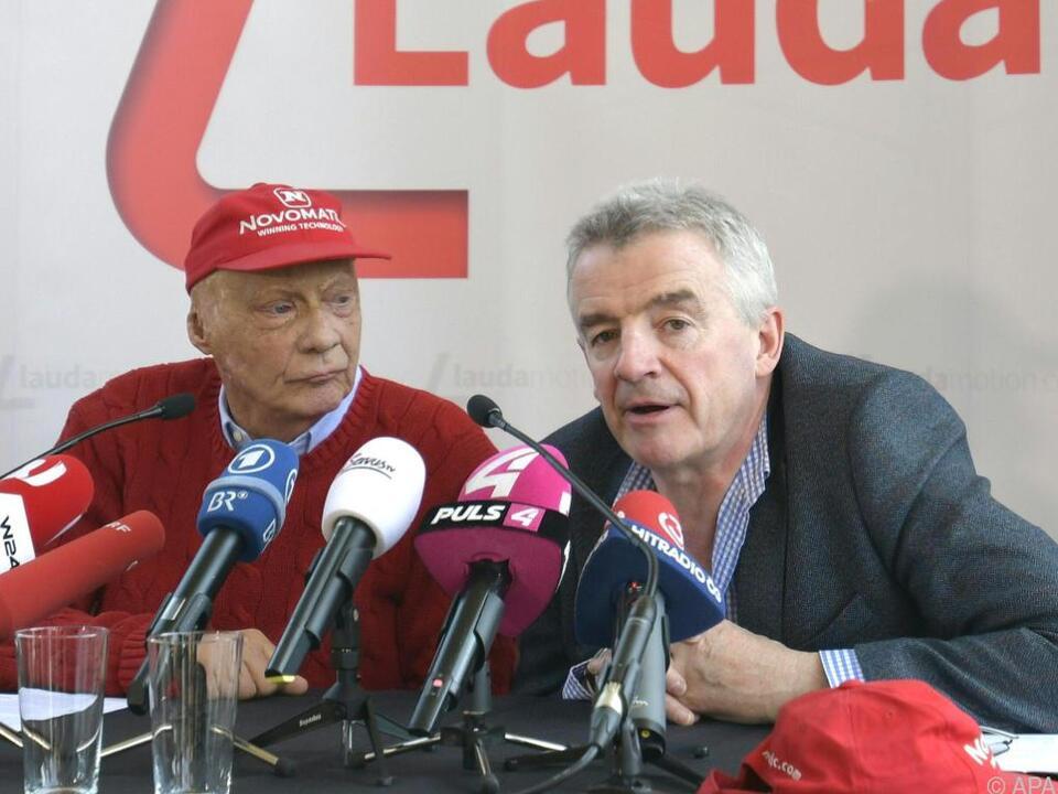 Ryanair-Chef Michael O\'Leary ist von Laudamotion überzeugt