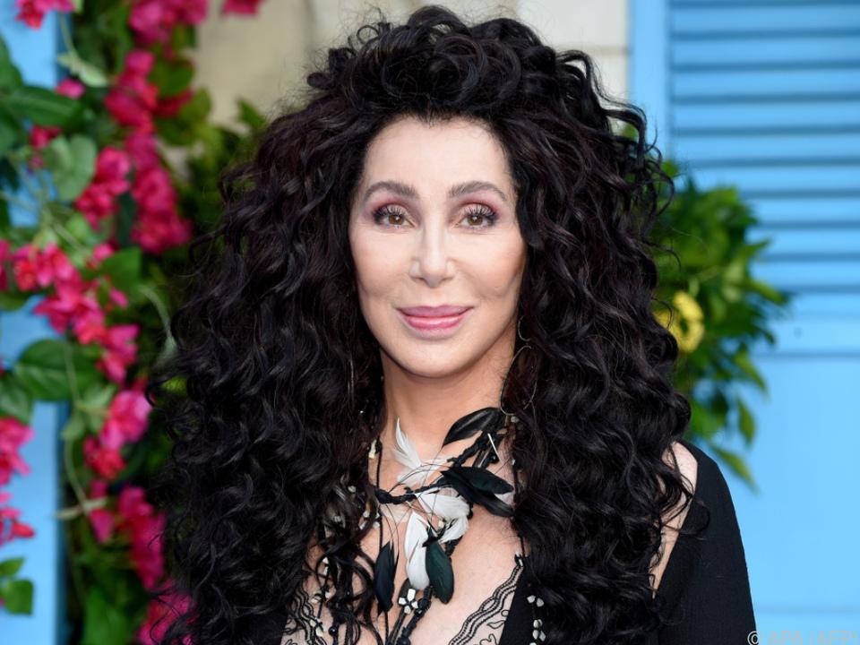 Sängerin Cher erhält die Auszeichnung Anfang Dezember