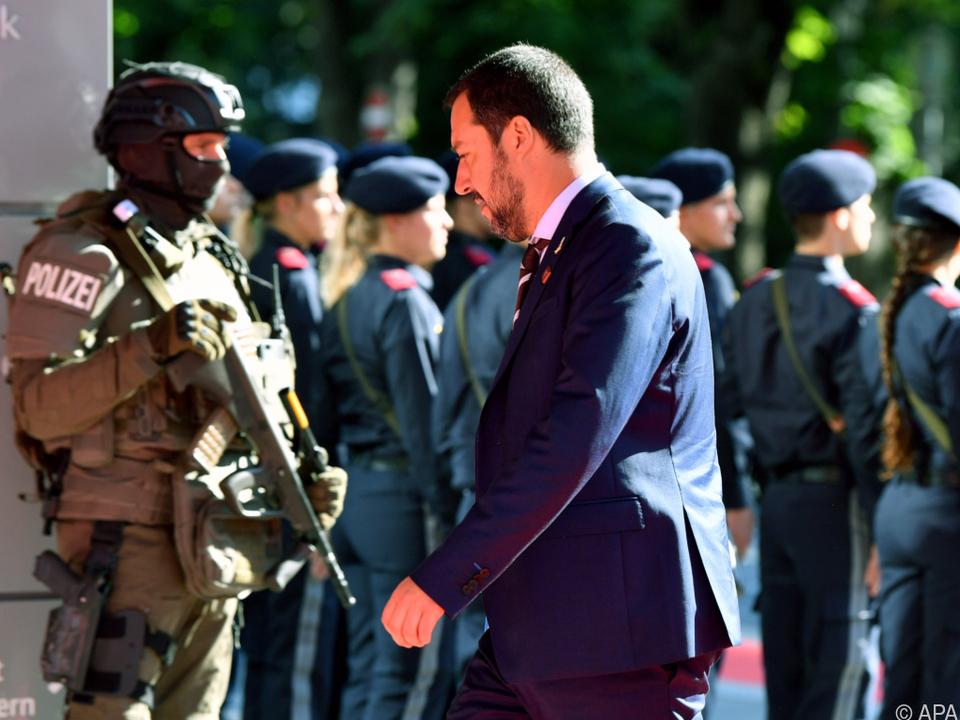 Salvini erwartet konkrete Unterstützung von der EU
