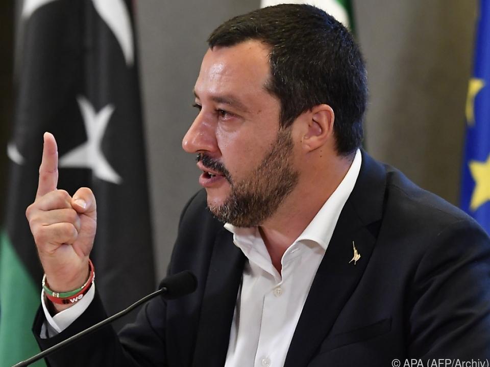 Salvini möchte Migranten nur noch über legalen Weg einwandern lassen