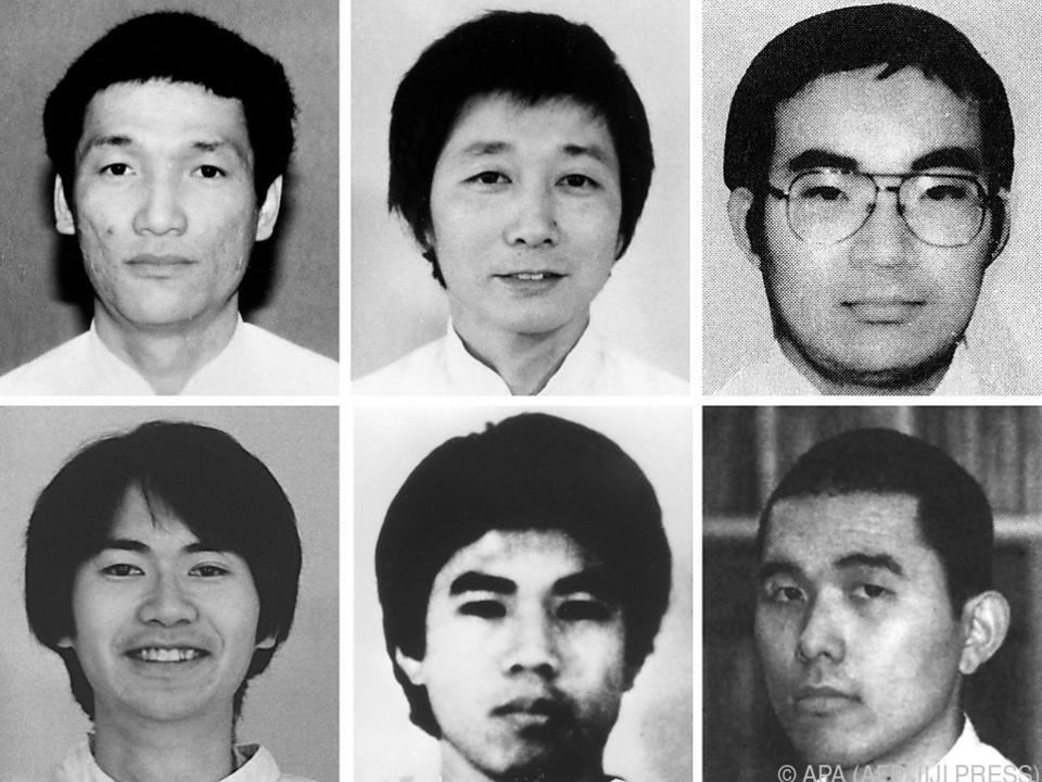 Sechs weitere Sektenmitglieder wurden hingerichtet