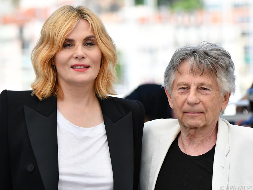 Seigner mit Ehemann Polanski