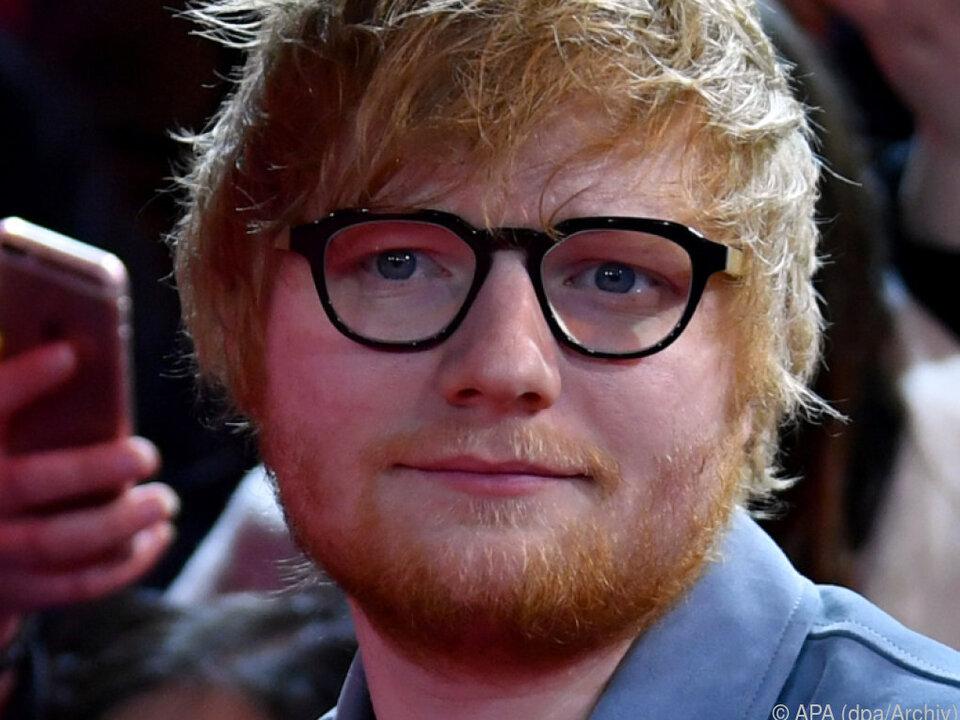 Sheeran wollte die Kapelle für seine Hochzeit errichten lassen